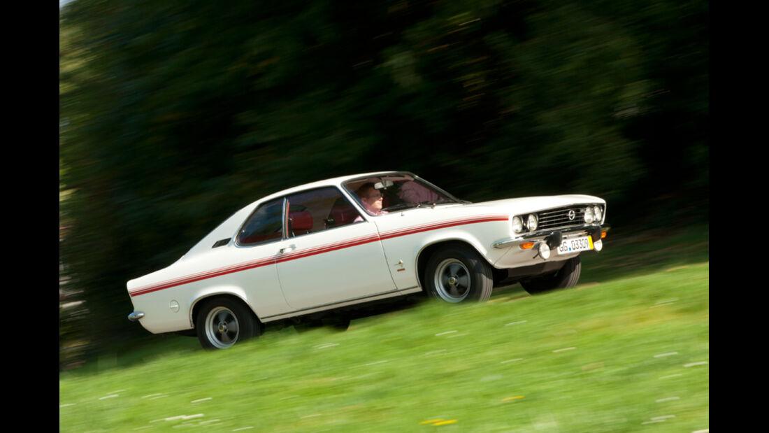 Automobil-Design, Opel Manta, Seitenansicht
