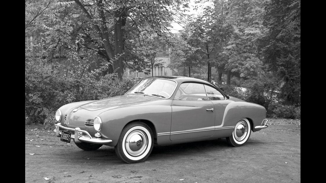 Automobil-Design, VW Karmann-Ghia, Seitenansicht