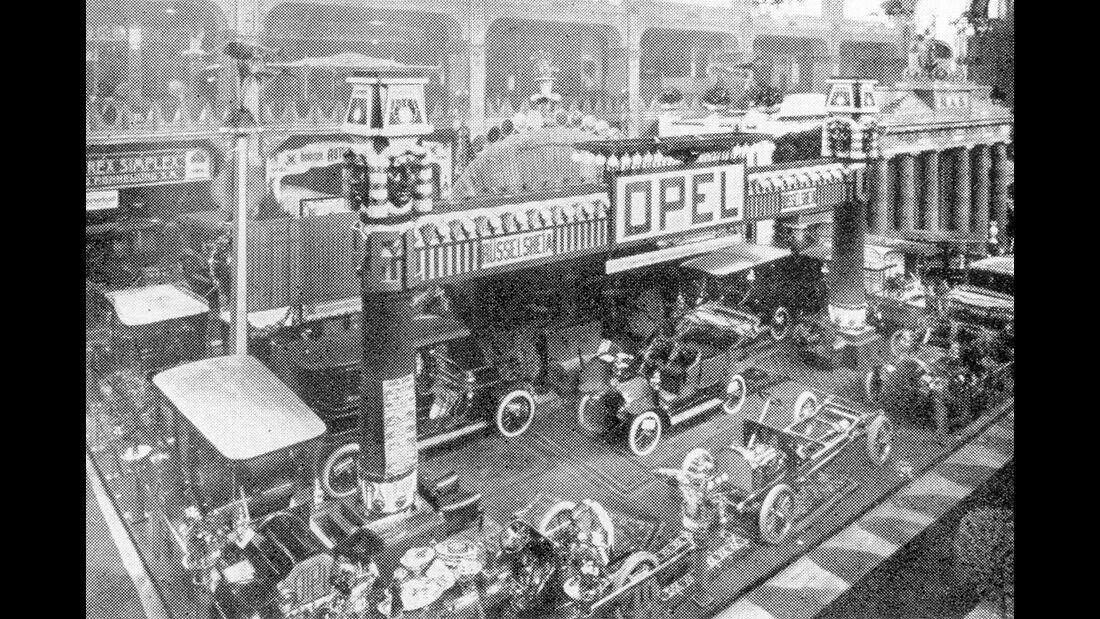 Automobilausstellung in Berlin 1906