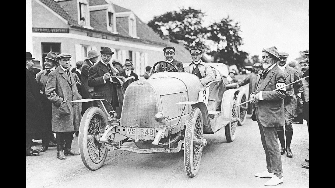 Automobilmeeting von Huy, Belgien, 1913