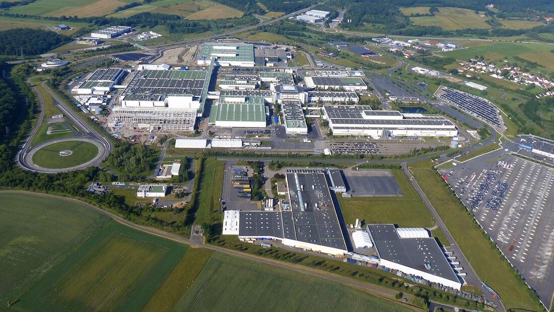 Automobilproduktion Werk Hambach für Ineos Grenadier