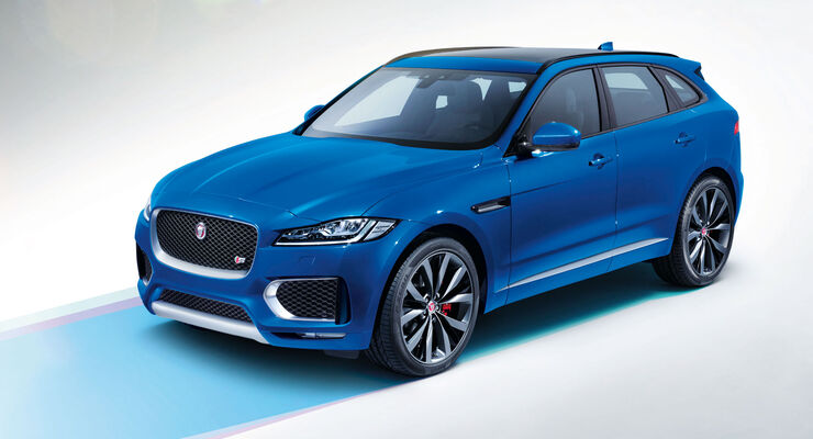 autonis 2016: jaguar f-pace siegt bei den kompakt-suv - auto motor