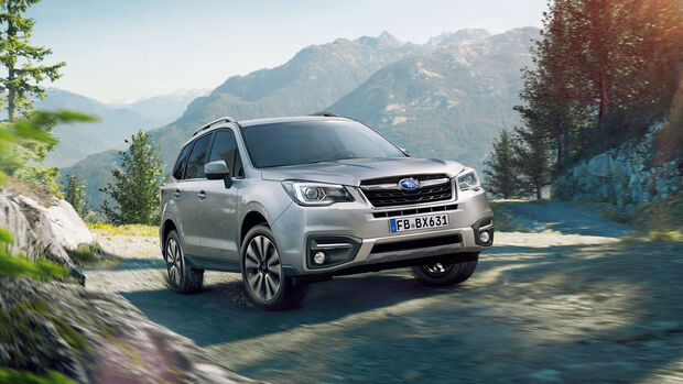 Autonis 2016, Leserwahl, Subaru Forester