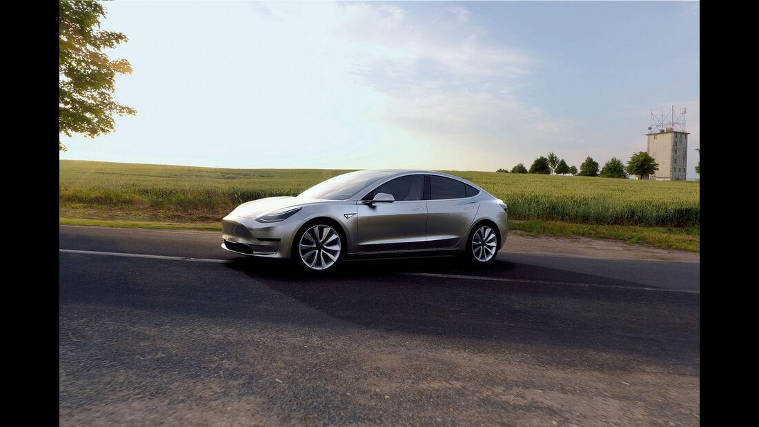 Autonis 2016, Leserwahl, Tesla Model 3