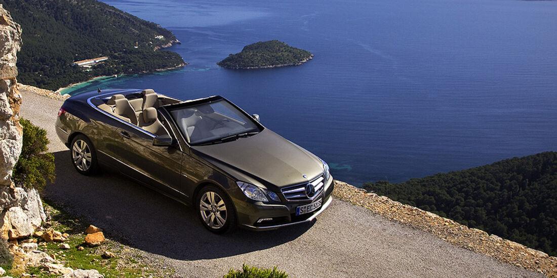 Autonis, Die schönsten Autos 2010, Mercedes E 350 Cabrio