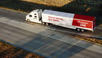 Autonomer Otto Truck Uber Volvo VNL 780 Budweiser