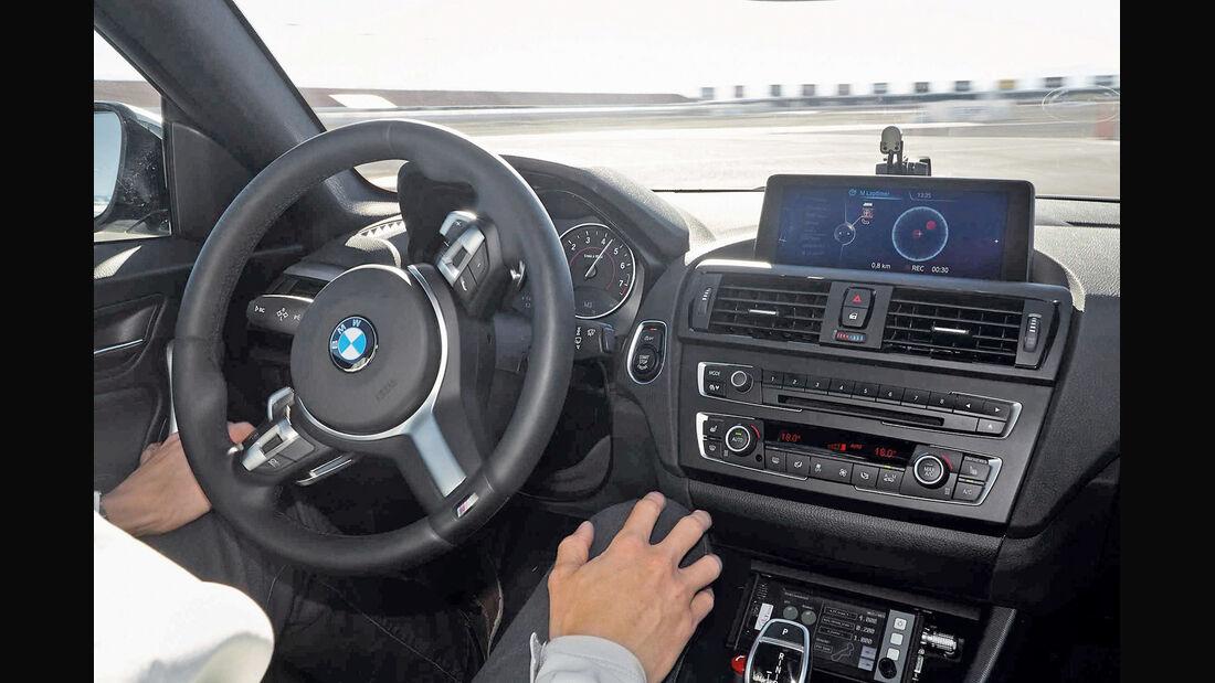 Autonomes Fahren, BMW, Cockpit