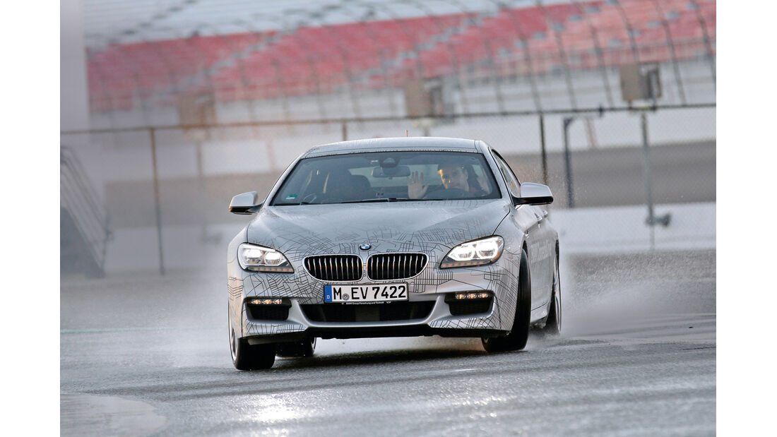 Autonomes Fahren, BMW, Testwagen