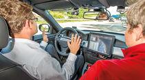 Autonomes Fahren, Cockpit, Fahrer
