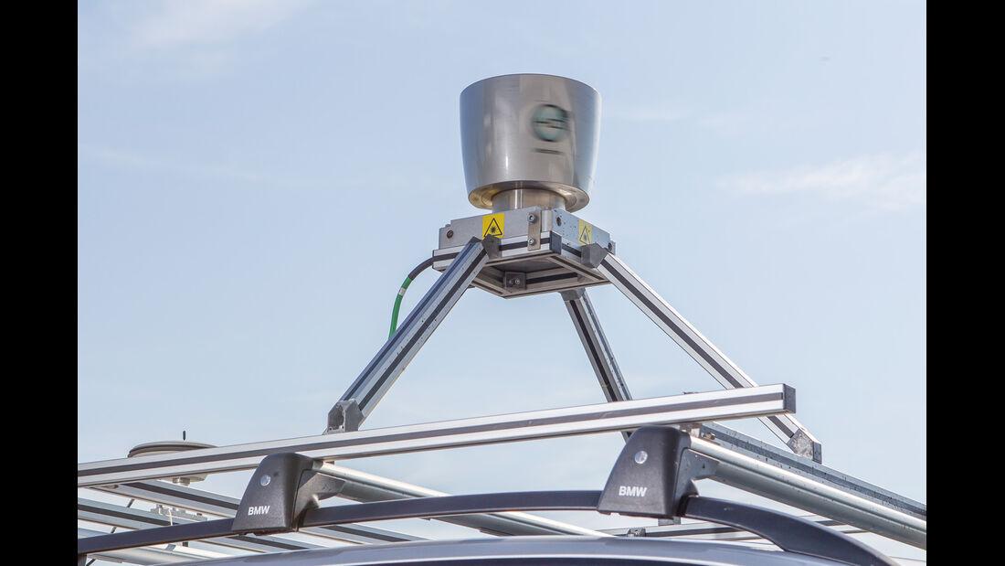 Autonomes Fahren, Laserscanner