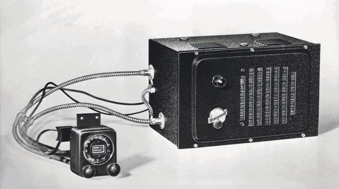 Autoradio, 4A75, Blaupunkt, 1933