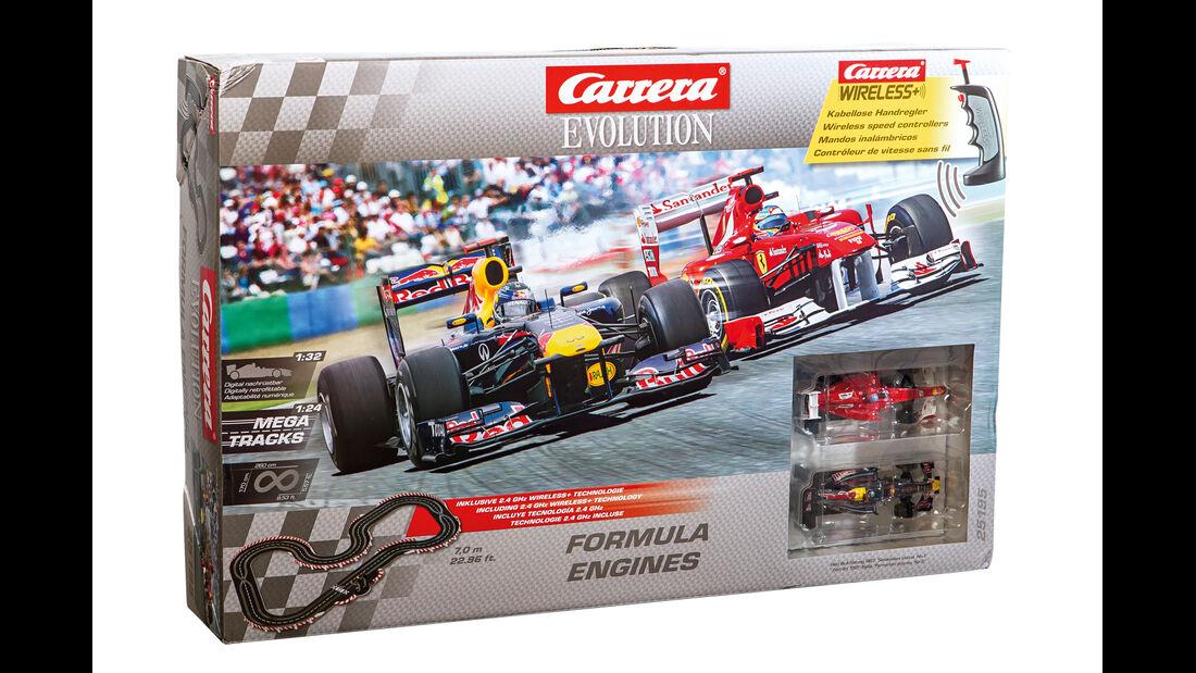 Autorennbahn, Carrera Evolution, Packung
