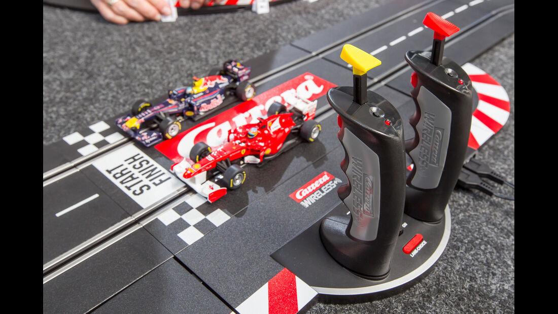 Autorennbahn, Spielaufbau