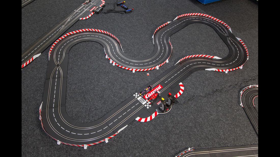 Autorennbahn, Spielstrecke
