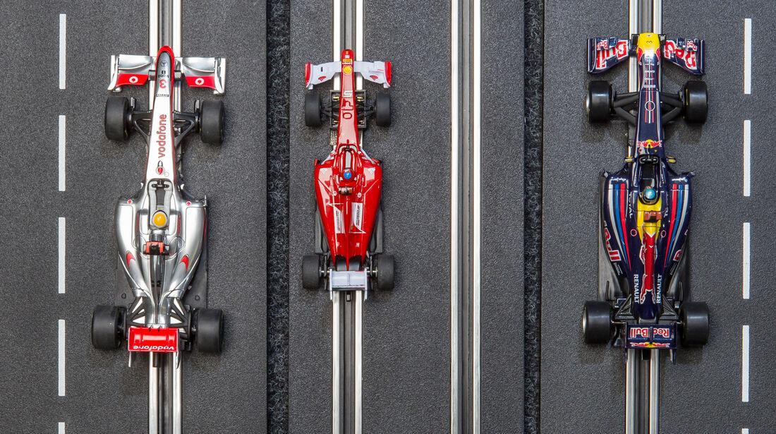 Autorennbahn, Systemvergleich