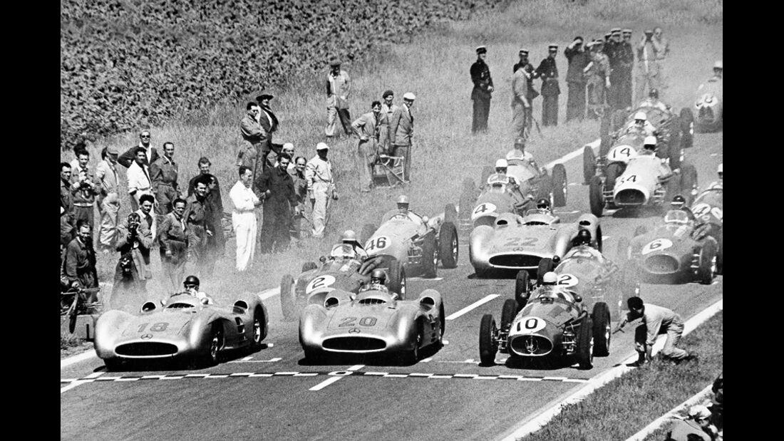 Autorennen Start 1959