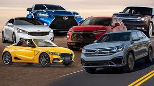 Autos Ausland Aufmacher Collage