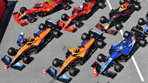 Autos - GP Spanien 2021 - Barcelona