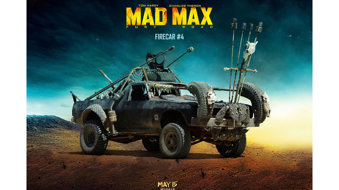 Autos aus Mad Max: Fury Road (2015)