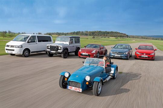 Autos für Individualisten, Alle Fahrzeuge