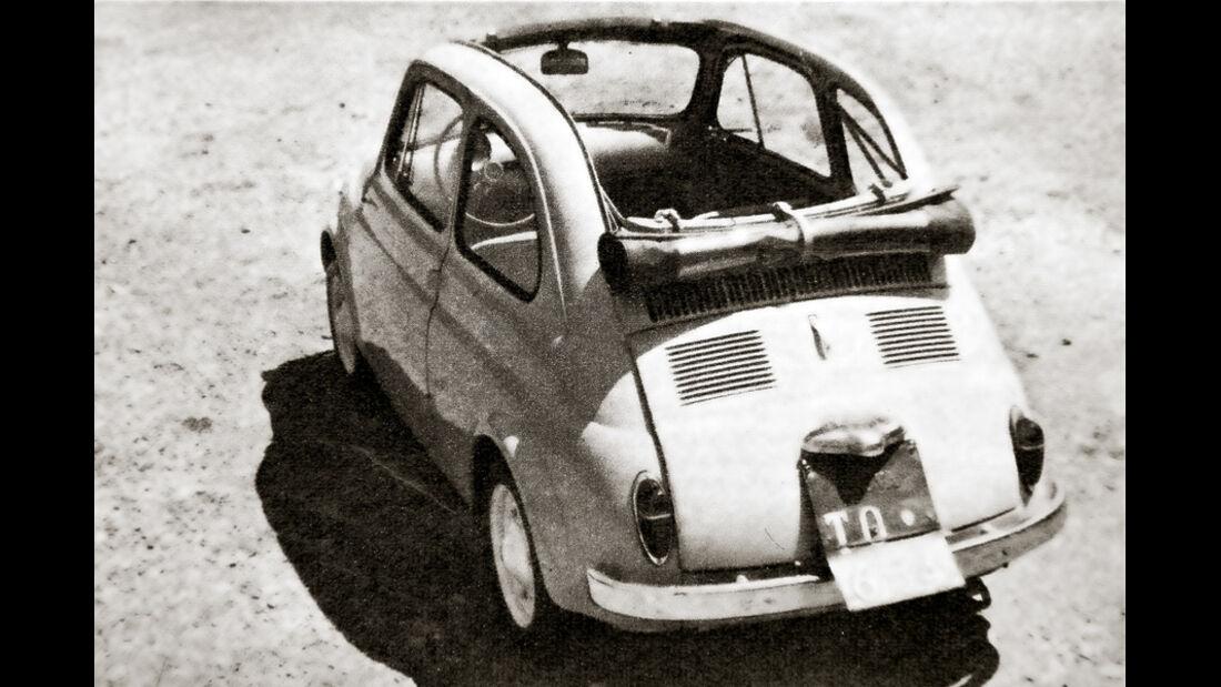 Autos mit luftgekühlten Motoren