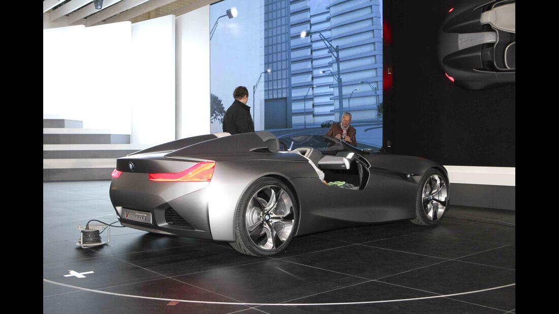 Autosalon Genf 2011 Rundgang BMW Vision ConnectedDrive