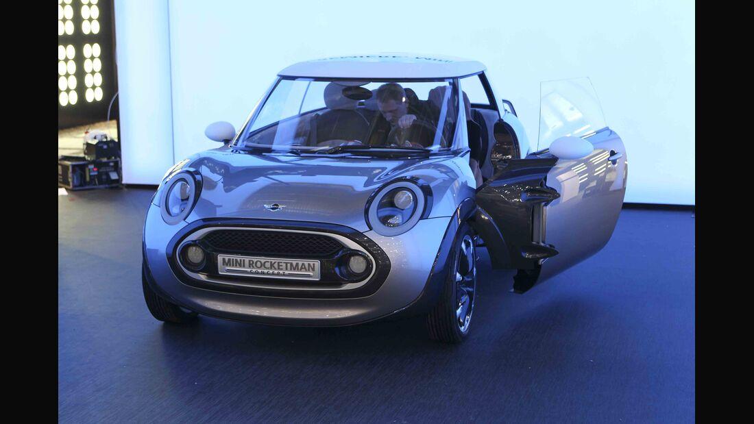 Autosalon Genf 2011 Rundgang Mini Rocketmann