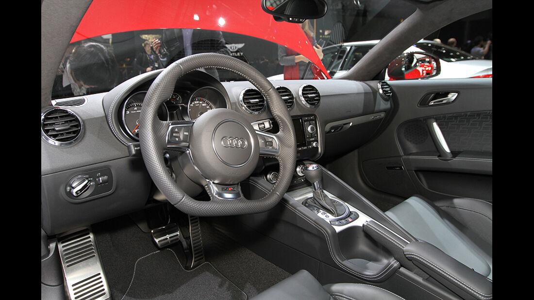 Autosalon Genf 2012, Cockpit, Audi TT RS Plus
