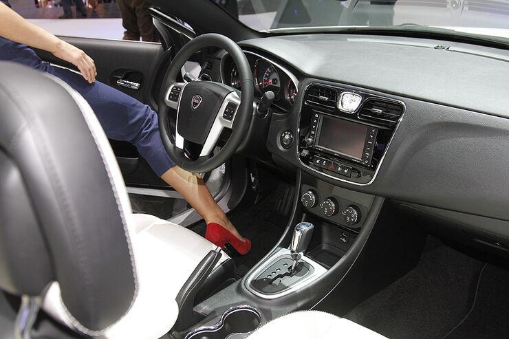 Autosalon Genf 2012, Cockpit, Lancia