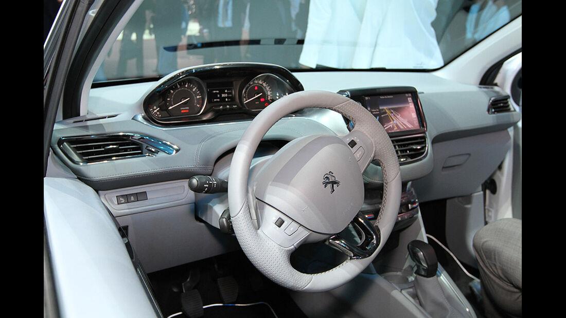 Autosalon Genf 2012, Cockpit, Peugeot 208