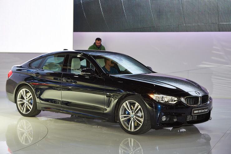 Autosalon Genf 2014, BMW 4er Gran Coupé