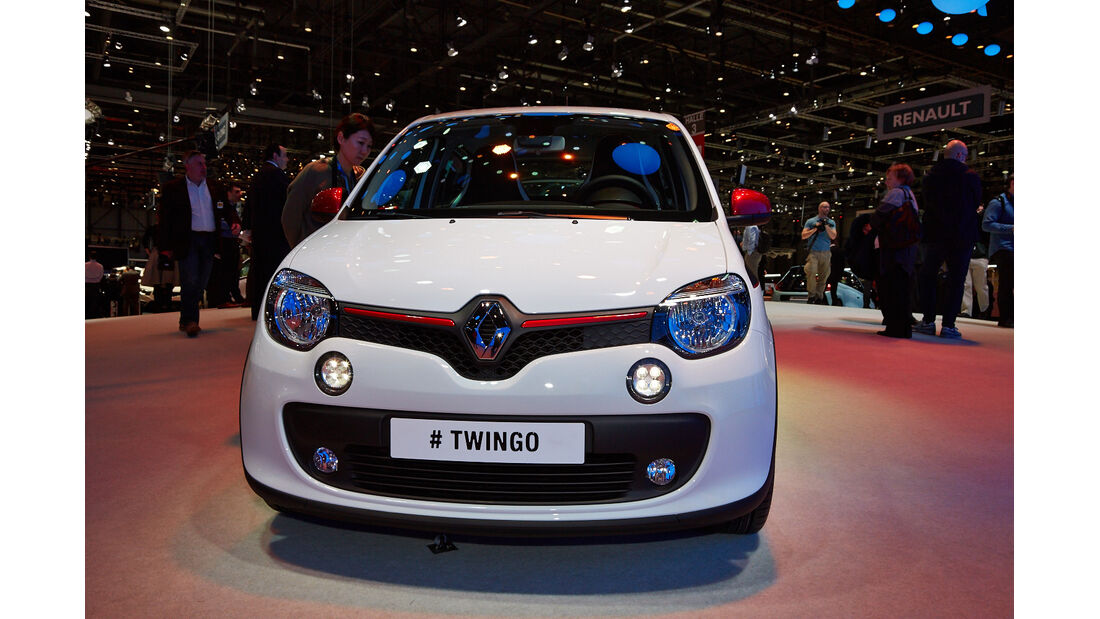 Autosalon Genf 2014, Renault Twingo