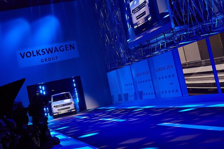 Autosalon Genf 2014 VW-Abend