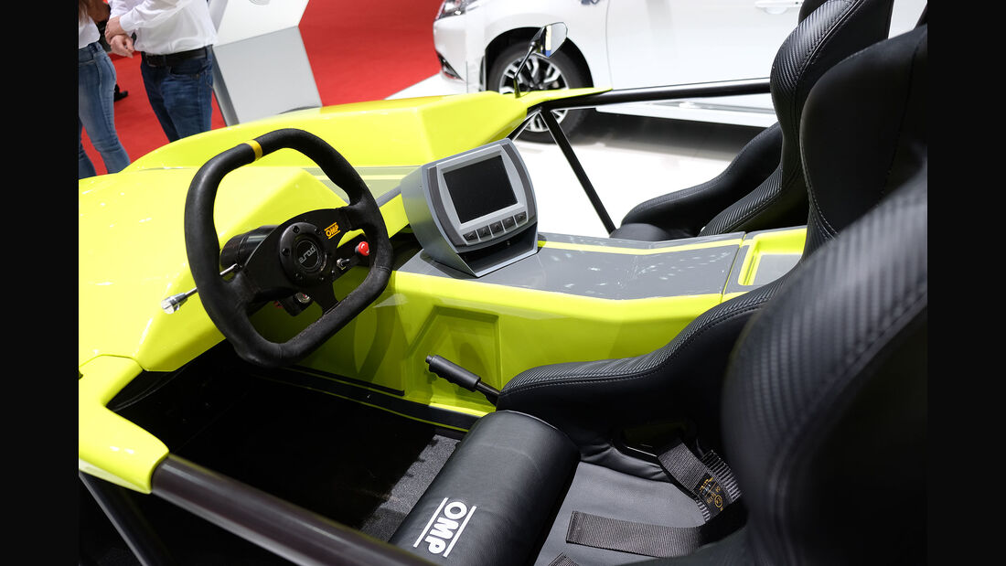 Autosalon Genf 2016 Exoten Kyburz eRod