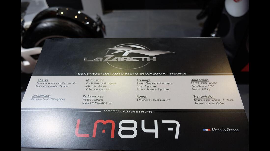 Autosalon Genf 2016 Exoten Lazareth LM 847