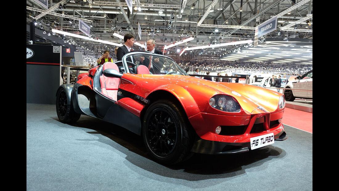 Autosalon Genf 2016 Exoten Secma F16 Turbo
