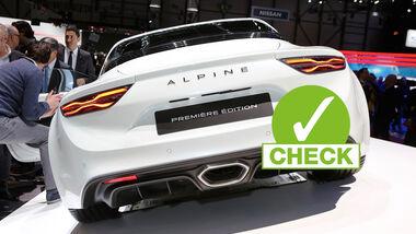 Autosalon Genf 2017 Renault Alpine