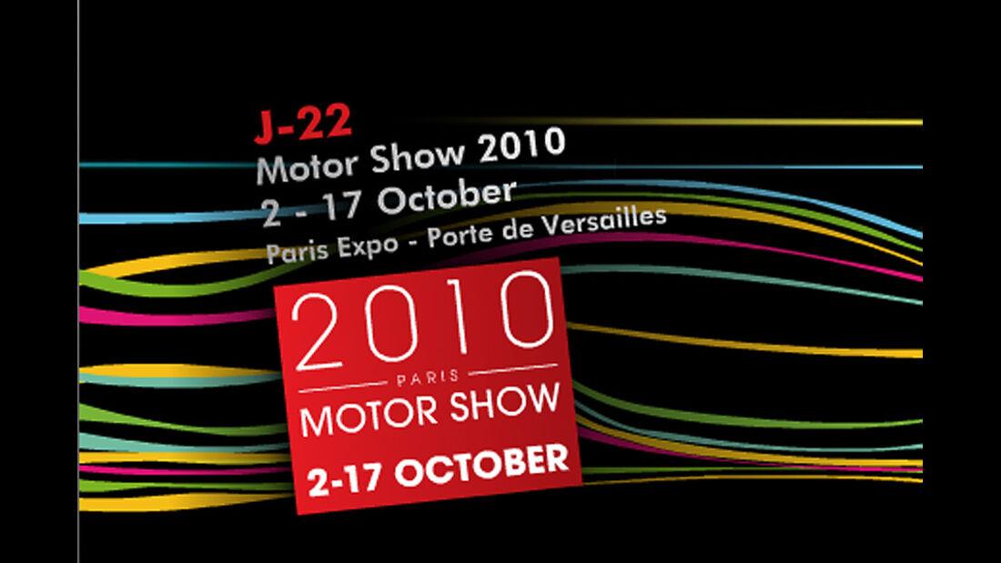 Autosalon Paris 2010 Mondial de l'Automobile Paris Logo