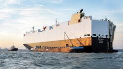Autotransporter RO/RO Schiff VW Seetransport