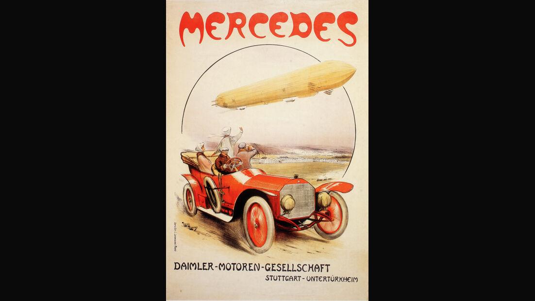 Autowerbung, Daimler