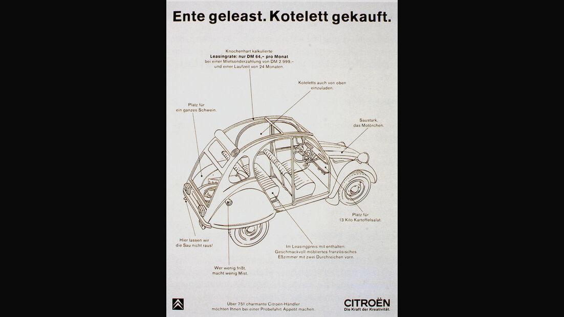 Autowerbung, Ente