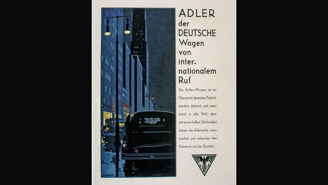 Autowerbung, Horch