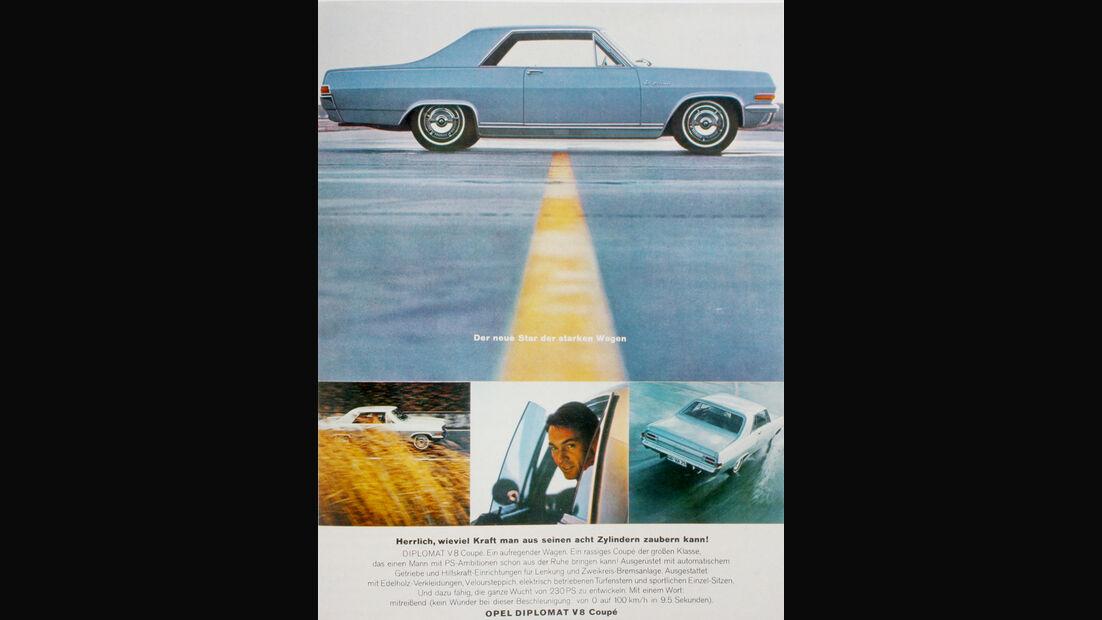 Autowerbung, Opel Diplomat