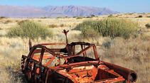 Autowracks in Namibia, Brandberg