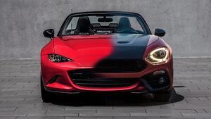 Autozwillinge Teaser Mazda MX-5 Fiat 124 Abarth Morph
