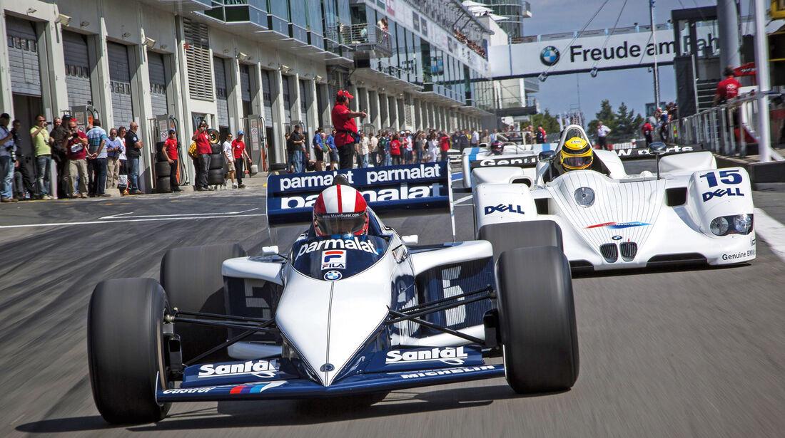 AvD-Oldtimer-GP, Marc Surer, Braham-BMW