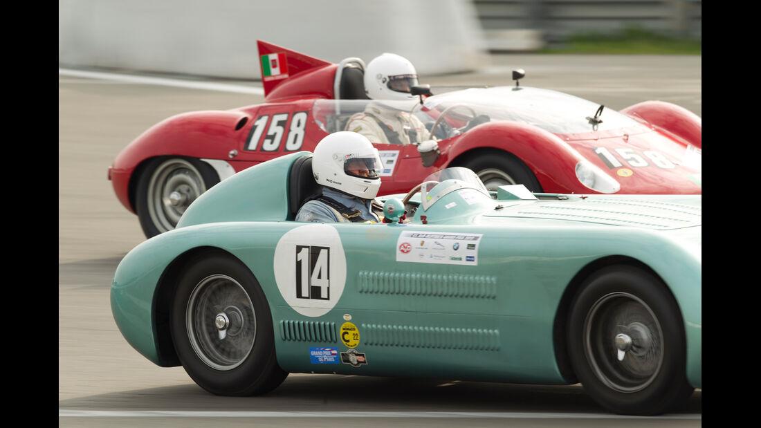 AvD-Oldtimer-Grand-Prix 2013: BMW macht ordentlich Dampf