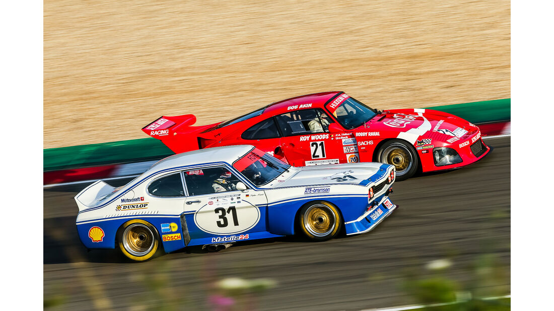 AvD Oldtimer Grand Prix 2016 Ford Capri Porsche 935