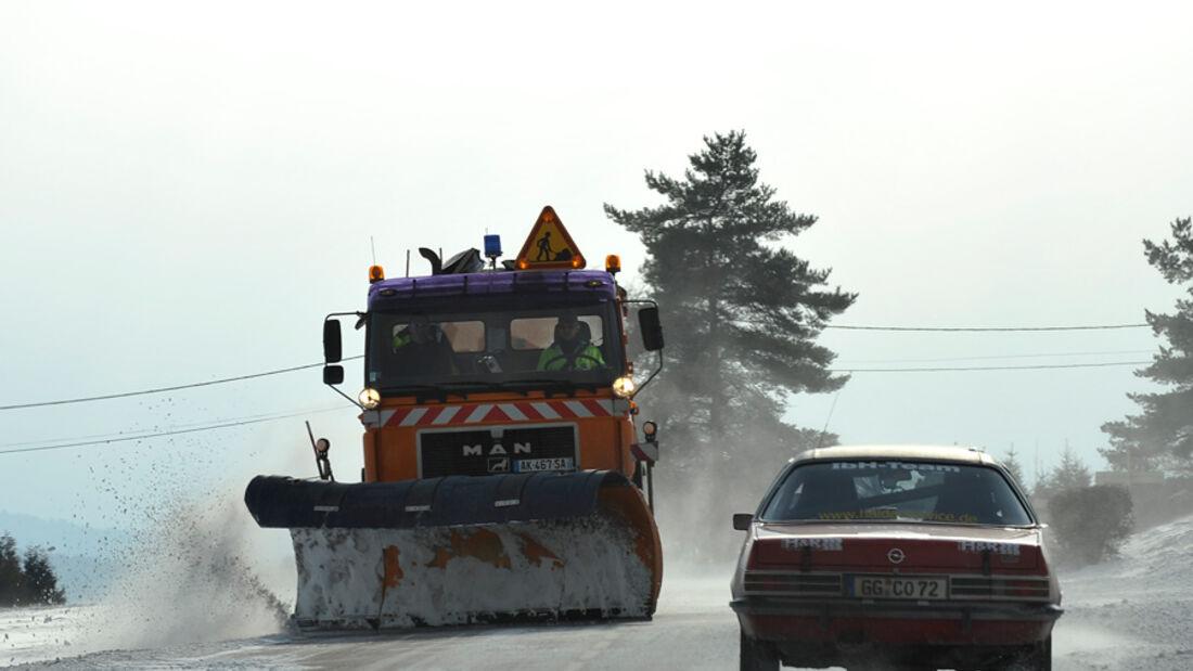 AvH-Histo-Monte, Schneepflug