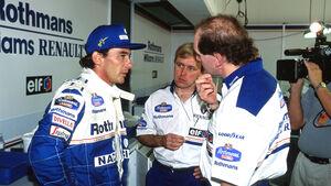 Ayrton Senna & Adrian Newey -  Formel 1 1994